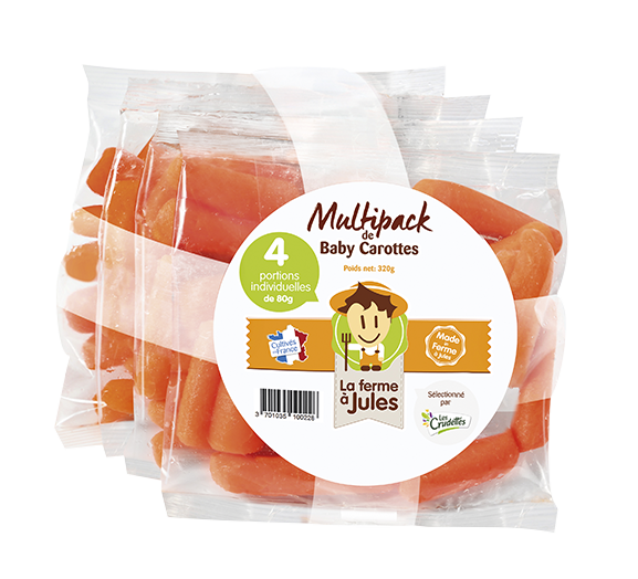 Multipack Baby Carottes